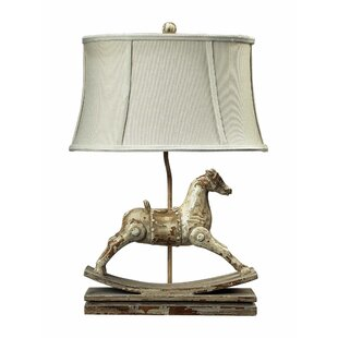 Affordable Elbert Rocking Horse 24 Table Lamp By Charlton Home