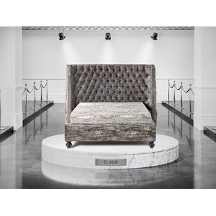 Elton Upholstered Bed Frame By Willa Arlo Interiors