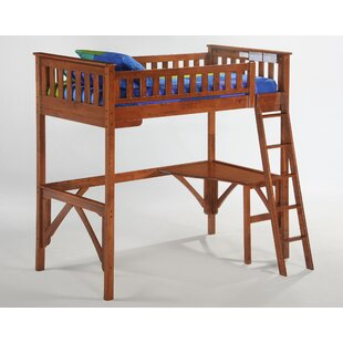 Ginger Bunk Bed with Curvy Desk