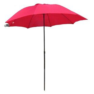 7' Beach Umbrella by Pure Weather