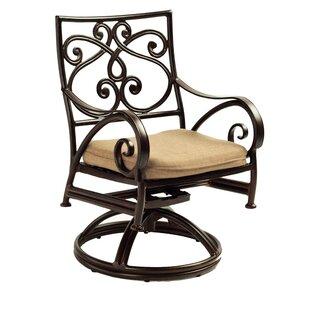Lucerne Cast Swivel Rocking Chair By Leona