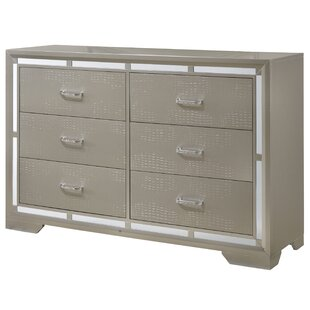 Mohn 6 Drawer Double Dresser