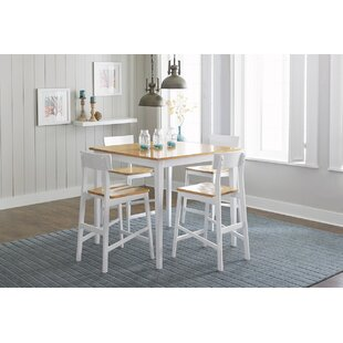 Finley 5 Piece Counter Height Dining Set Beachcrest Home