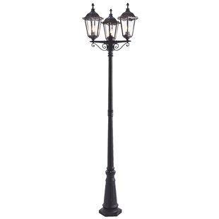 Sienna 3-Light 230cm Post Light By Sol 72 Outdoor