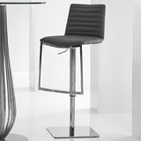 London Swivel Adjustable Height Bar Stool by Bellini Modern Living