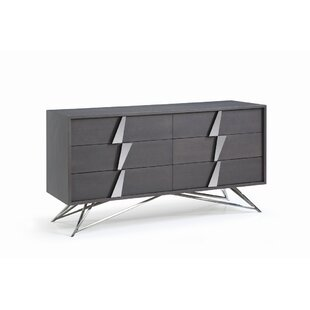 Check Prices Parnell 6 Drawer Double Dresser by Orren Ellis