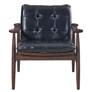 17 Stories Paige Tufted Arm Chair