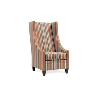 Saige Wingback Chair by Unique..