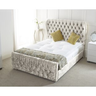 Sarai Upholstered Sleigh Bed By Willa Arlo Interiors