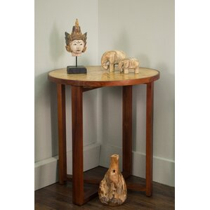 Zora End Table by World Menagerie
