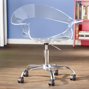 acrylic office chairs. Mikayla Desk Chair Acrylic Office Chairs I