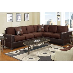 Bosque Sectional. Dark Brown Bosque Sectional  sc 1 st  Wayfair : brown leather sectional - Sectionals, Sofas & Couches