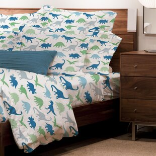 Nutt 4 Piece Juvenile Dinosaur Sheet Set