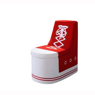Arturo Sneaker Shoe Upholstered Storage Bench