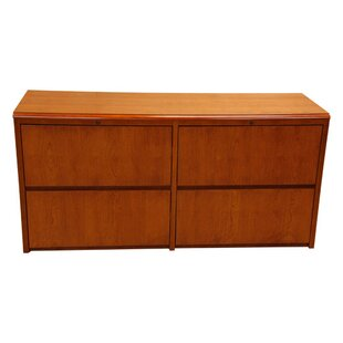 Waterfall Series Credenza Desk