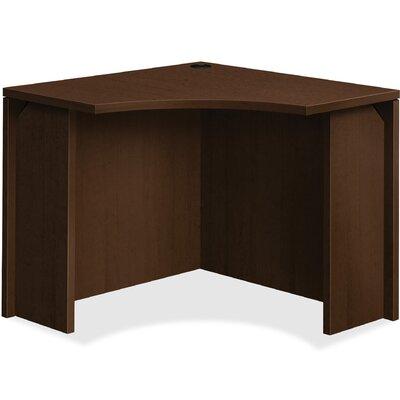 10500 Series Curved Corner Desk Shell HON Color Mocha