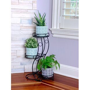 Round Etagere Plant Stand