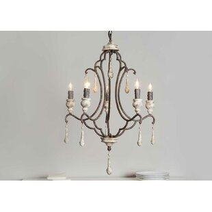 Medicis 5 Light Candle Style Chandelier