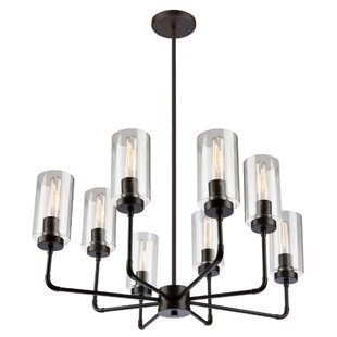 Taurla 8-Light Shaded Chandelier by 17 Stories