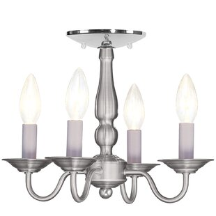 Three Posts Allensby 4-Light Candle Style..