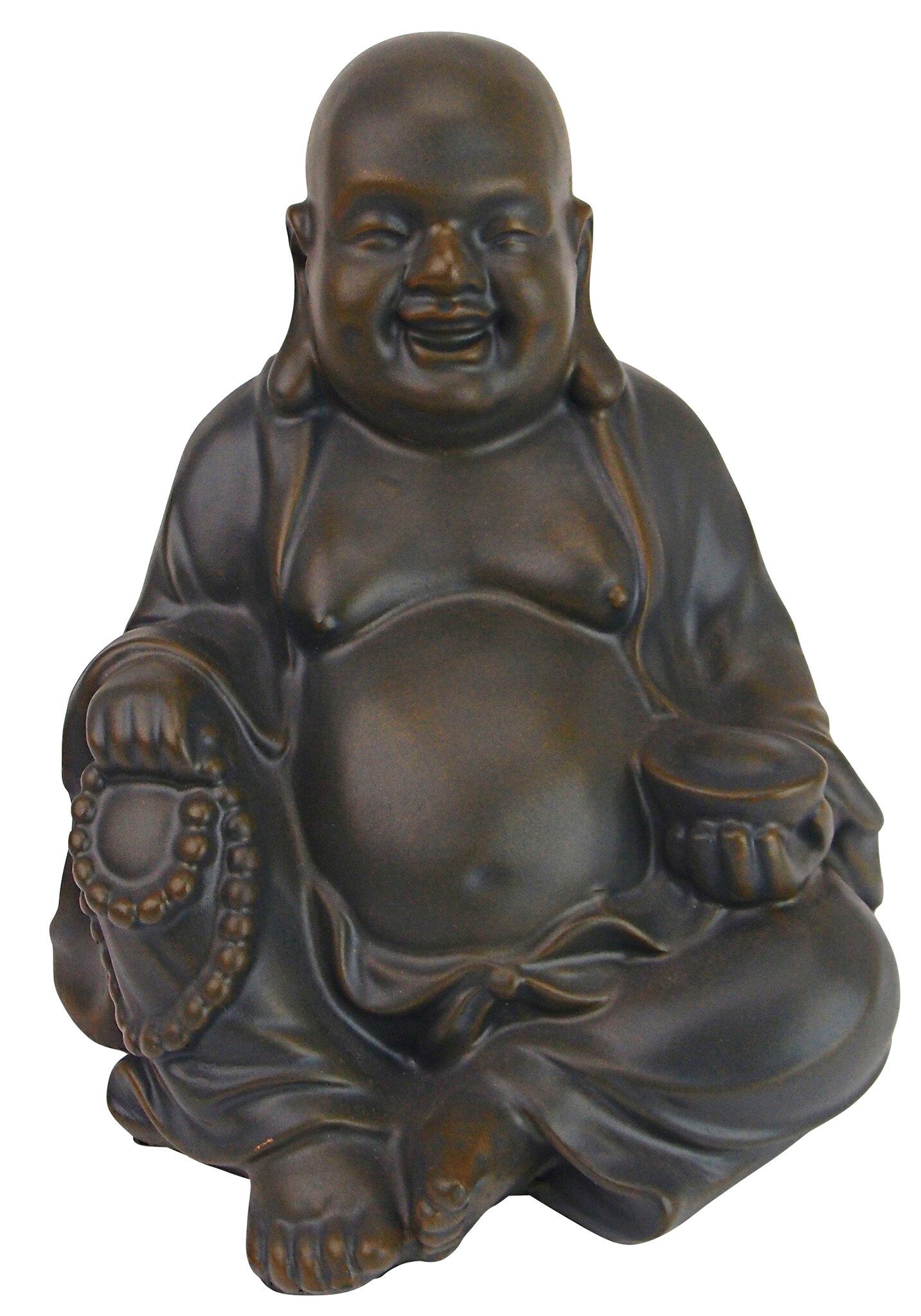 Design Toscano Laughing Buddha Happy Hotei Statue Reviews Wayfair