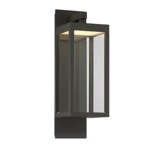 Gracie Oaks Fairlop Modern LED Outdoor Flush Mount
