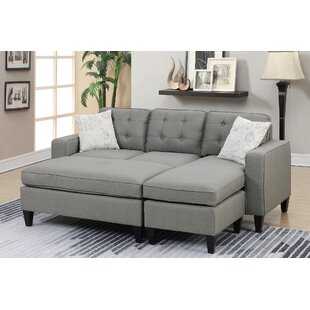 Ellensburg Reversible Sectional with Ottoman