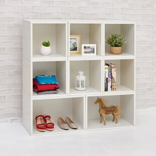 Way Basics Milan Storage Cube Unit Bookcase