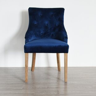Everly Quinn Kinnison Upholstered Dining Chair