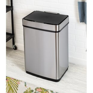 Steel 50L Motion Sensor Trash Can