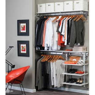 Inexpensive Arrange A Space 68W Closet System By Orginnovations Inc