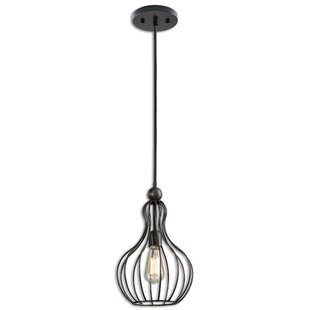 Williston Forge Jeannine 1-Light Geometric Pendant