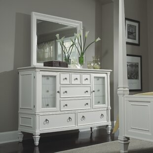 Keister 11 Drawer Combo Dresser with Mirror