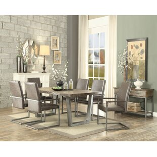 Union Rustic Polster Dining Table