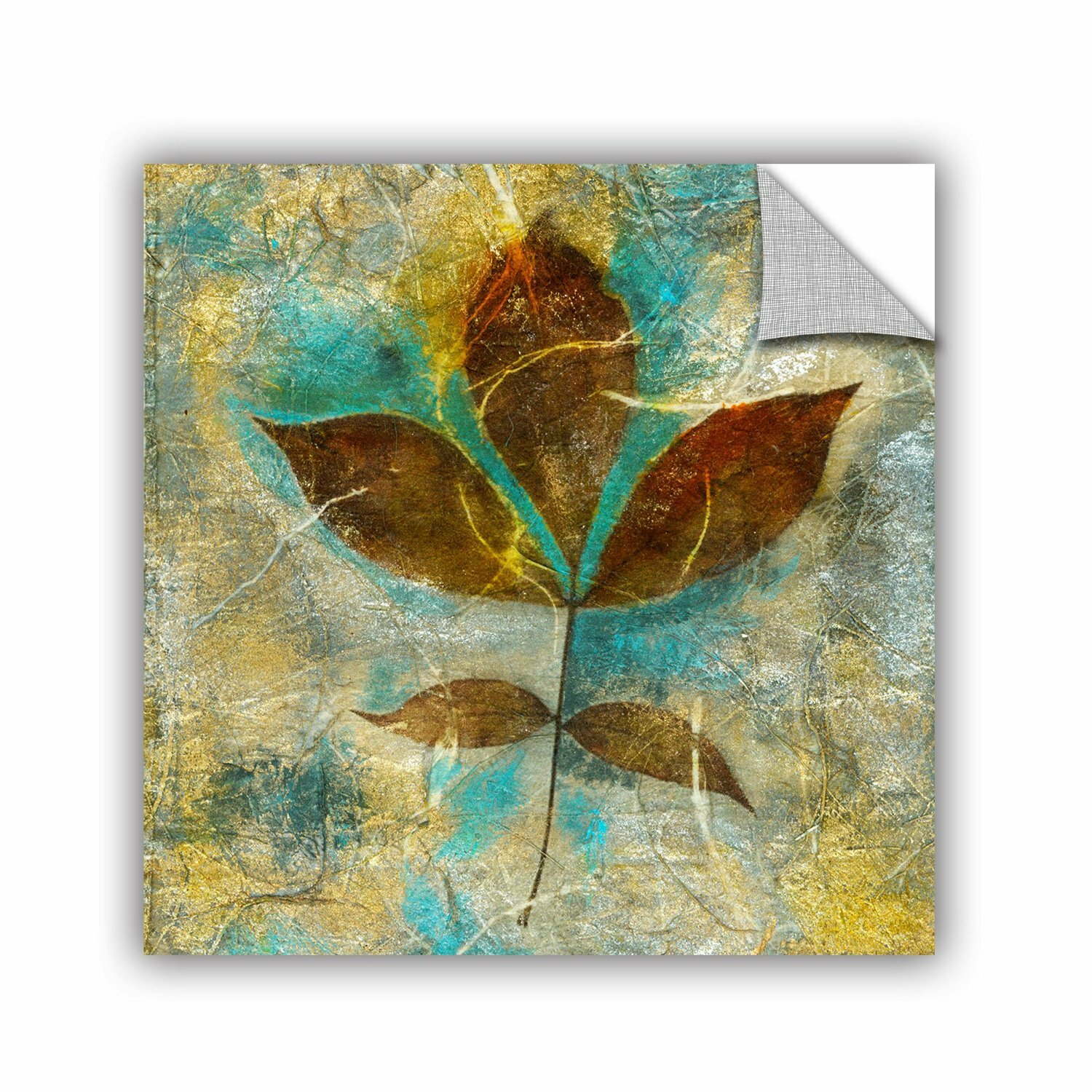 Artwall Branch With Golden Leaves By Elena Ray Removable Wall Decal Wayfair