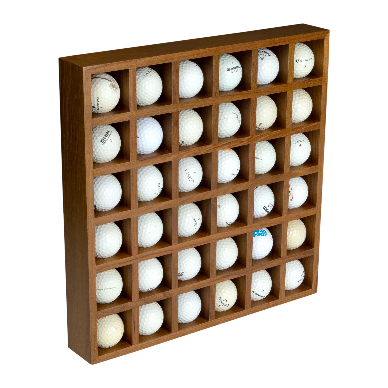 Whitecapteak Golf Ball Wall Mounted Sports Rack Wayfair