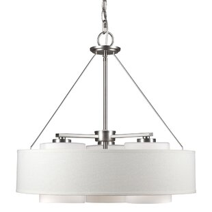 Ebern Designs Kiara 3-Light Drum Chandelier