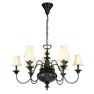 Darby Home Co Ellington 9-Light Shaded Chandelier