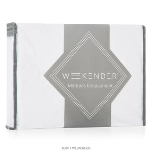 Encasement Hypoallergenic and Waterproof Mattress Protector by Weekender