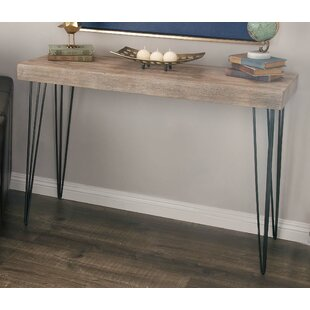 Affordable Metal/Wood Console Table ByCole & Grey
