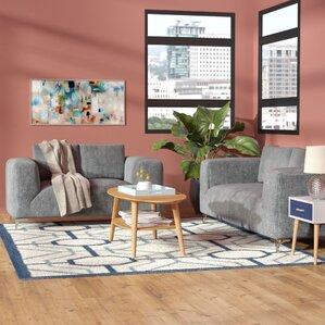 Buffum 2 Piece Living Room Set by Orren Ellis