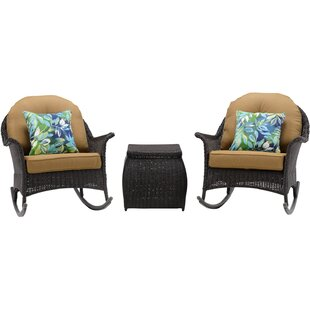 Kinnison 3 Piece Conversation Set with Cushions