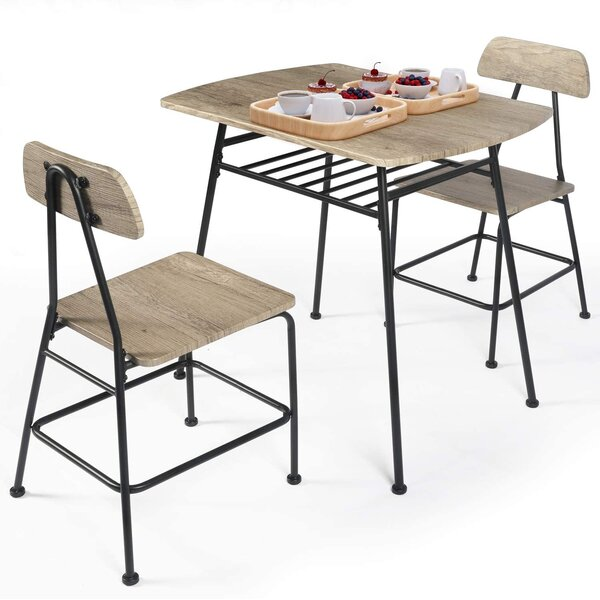 2 Person Dining Table Set Wayfair