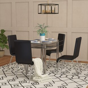 Scalise 5 Piece Dining Set Orren Ellis