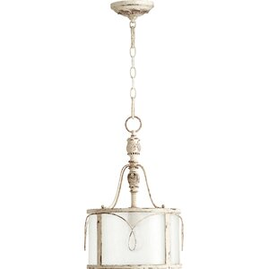 Paladino 1-Light Drum Foyer Pendant