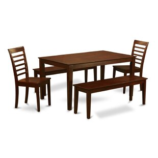Smyrna 5 Piece Dining Set by Charlton Home Wonderful