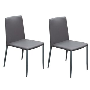 Joseline Upholstered Dining Chair (Set of 2) Orren Ellis