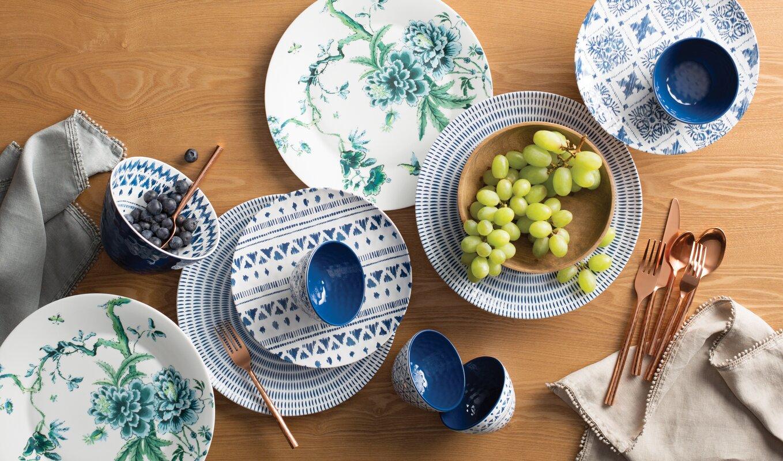 Indochine Ikat Melamine Dinner Plate & Indochine Ikat Melamine Dinner Plate \u0026 Reviews | AllModern