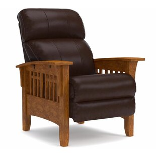 La-Z-Boy Eldorado Leather Manual Recliner