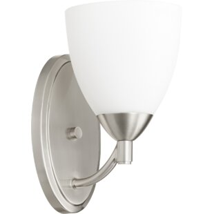 Brophy 1-Light Armed Sconce by..
